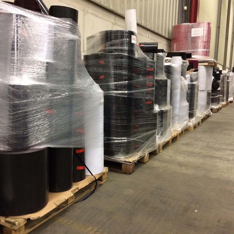Stocklot Velvet PVC rolls