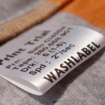 stocklot self-adhesives label cloth