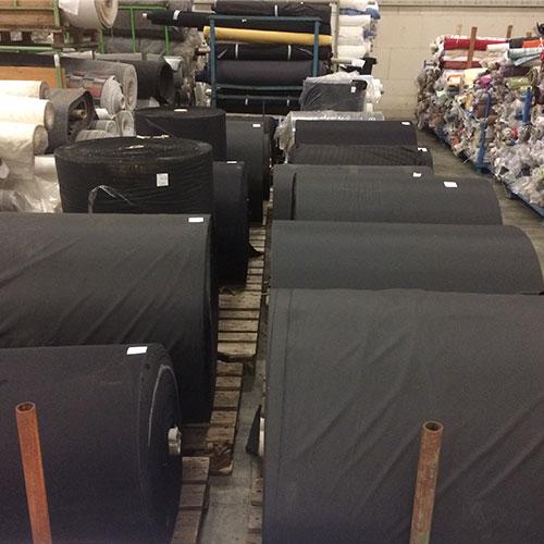Textiles black fabrics Europe