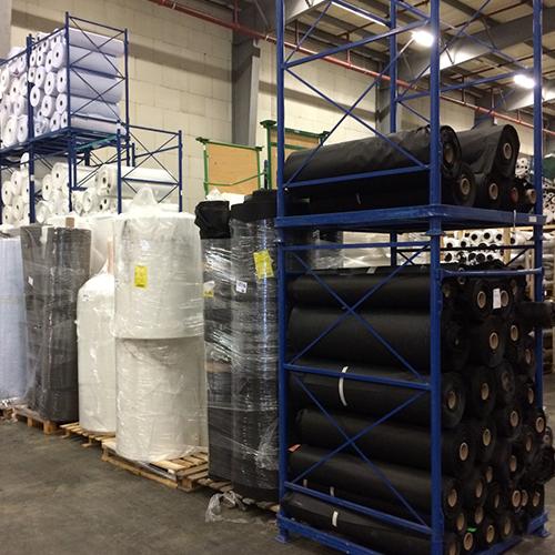 Europe stocklots Textiles non-woven