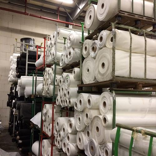 Stocklots non-woven textiles