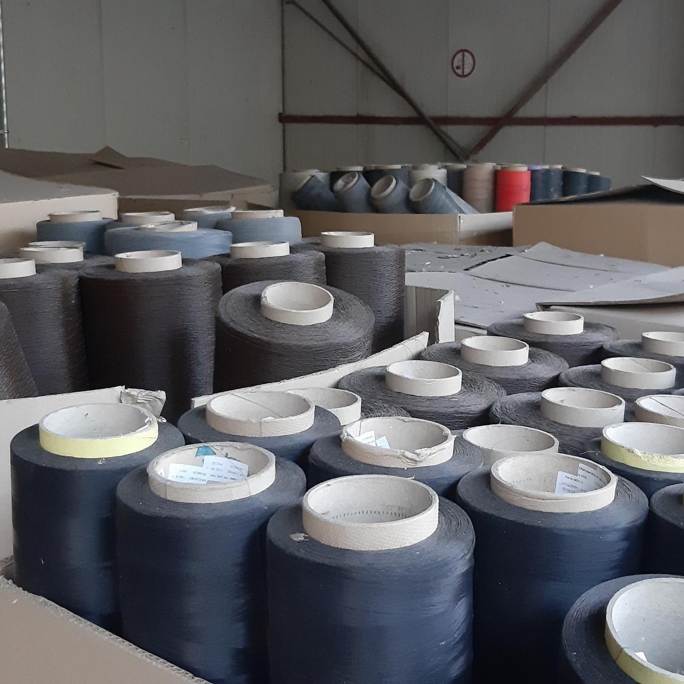 Stocklot Yarn PVC Glass Fiber